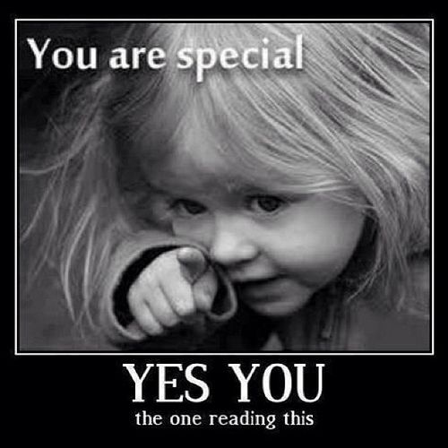 Foto You are special